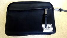 BN HERSCHEL SUPPLY COMPANY DOUBLE ZIP CLUTCH PURSE/WALLET/CARRY ALL CASE~UNISEX