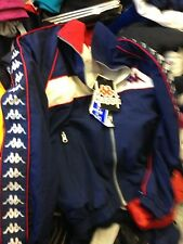 KAPPA TRACKTOP 26/38  39/32 or 34 POLYjacket AT £14 bnwLRED /NAVY