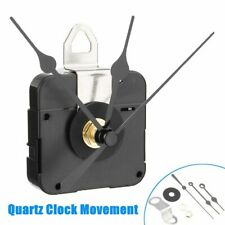 DIY Silent Quartz Clock Set Movement Mechanism with Hour Minute Second Hand