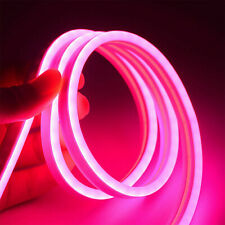 Pink12V Flexible Led Strip Waterproof Sign Neon Lights Silicone Tube