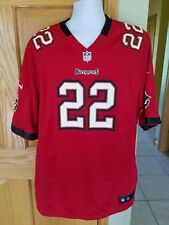 NIKE ON FIELD MENS 2XL TAMPA BAY BUCCANEERS D.MARTIN RED JERSEY