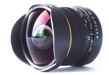8mm Fisheye Wide Angle Macro Lens for Nikon D90 D5100 D5000 D3300 D3100 D3000