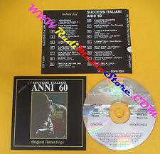 CD Compilation Successi Italiani Anni 60 BRUNO MARTINIO DI CAPRI no lp mc(C28)