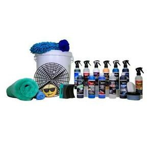 Jennychem 22 Piece Professional Interior Exterior Car Care Cleaning Valeting Kit