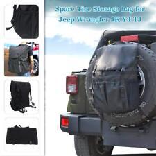 Backpack Cargo Spare Tire Storage Bag for Jeep Wrangler JK TJ YJ 1997 1998-2018