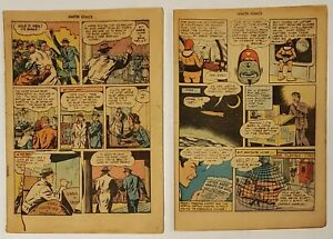 Fawcett Publications - Issues 76 & 92 of Master Comics - Coverless & Incomplete