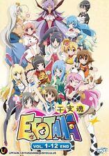 DVD Etotama Complete Tv 1-12end (English Sub) + Free Gift
