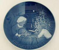 Bing and Grondahl 1978 Christmas Plate A Christmas Tale