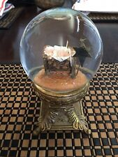 Berean Keep Christ In Christmas Water Globe 2009 Nativity Collector's Edition