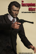 Custom made 1/6 Scale The Unscrupulous Officer Clint Eastwood Dirty Harry