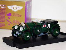 BENTLEY 4.5L #8 RACING 1932 BRUMM R114 1/43