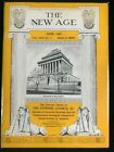 The New Age: The Official Organ of the Supreme Council 33゚, freemason, 1959,apr