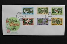 TOKELAU ISLANDS 1987 FDC Flowers