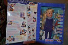Amazing Ally 1999 Interactive Doll & Bonus Tea Set Playmates Mib Tested Working