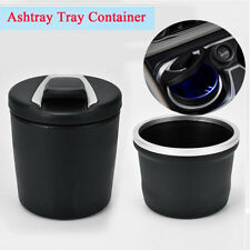 Auto Car Cigarette Ashtray Cigar Ash Collect Container with Blue LED Indicator