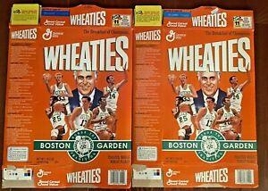 WHEATIES 1995 Boston Celtics Boston Garden FLATTENED Cereal Box