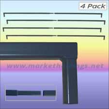 4 x 10' Split Frame Market Stall Bars - 3.0m Mini Parts Replacement Stand Poles