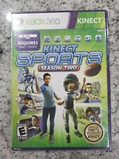 Kinect Sports Season Two 2 Microsoft Xbox 360 Brand New Sealed