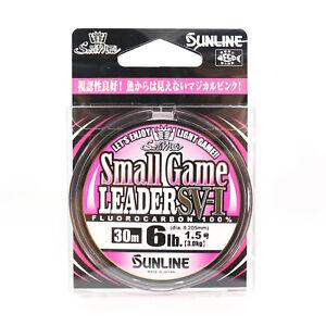 Sunline Fluorocarbon Small Game Leader SV-1 30m 6lb (8089)