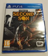 Infamous Second Son PS4 New Sealed UK PAL Version Game Sony PlayStation 4 3 3rd
