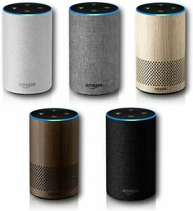 Amazon Echo 2nd Generation Home Music Smart Assistant Speaker w/ Alexa