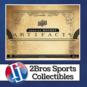 2020-21 Artifacts Hobby Master Case 20 Box Break 1/22 2pm CST Detroit Red Wings