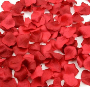 150 Colourful Quality Silk Rose Petals Confetti birthday wedding decoration