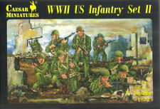 Caesar Miniatures 1/72 Ww2 Us Infantry Set #2