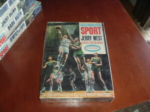 1965 Aurora Model Kit Great Moments in Sports Jerry West SEALED Box Basketball