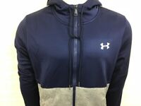 Us under armour af icon fz loose fit hoodie blue grey S M L XL 2XL 3XL RRP £65