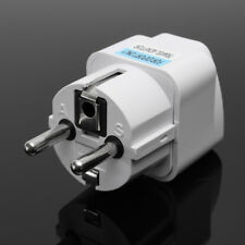 Travel Universal Power Outlet Adapter UK US EU AU to EU Plug Conversion Plug