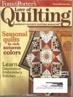 Fons & Porter's Love of Quilting Magazine - September/October 2009 - Issue 83