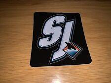 San Jose Sharks - NHL Hockey - Sticker / Decal (SJ)