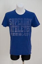 MENS SUPERDRY SUPER SPORT T SHIRT SHORT SLEEVED TOP BLUE SIZE M MEDIUM