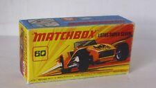Repro Box Matchbox Superfast Nr.60 Lotus Super Seven