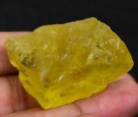 176.45 Ct Natural Lemon Citrine Untreated Transparent Specimen FACET Rough