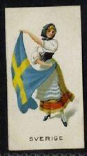 More details for (gj569-100) j. & f. bell, women of all nations, rare, #7 sverige 1925 vg+