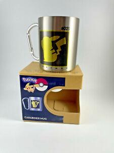 Pokemon - Pikachu - Karabiner - Cup - Becher für Tee und Kaffee 230ml - Retro