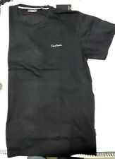 Pierre Cardin Black Crew Neck T-shirt 5xl