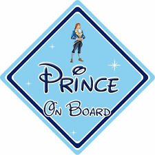 Disney Prince On Board Car Sign – Baby On Board – Beauty & The Beast