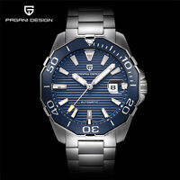 PAGANI DESIGN Men Date Mechanical 316L Stainless Steel Wristwatch Luminous Gift