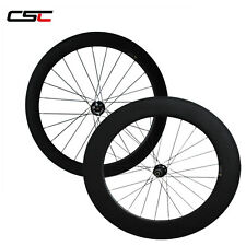 CSC Disc brake carbon wheelset, 60mm+88mm clincher wheels with disc road hub