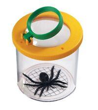 """World's Best Bug Jar - Insects Safari Ltd #621016 Small 2.5"""" tall 2.75"""" diameter"""