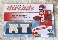 2008 SP Threads RT Pattern /250 Glenn Dorsey #RT-GD Rookie
