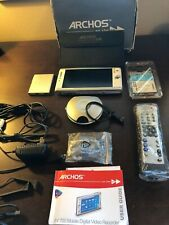 Archos Av700 Dvr 40 Gb 7-in Mobile Digital Video Recorder with accessories