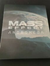 MASS EFFECT ANDROMEDA STEELBOOK NO GAME PS4 RARE