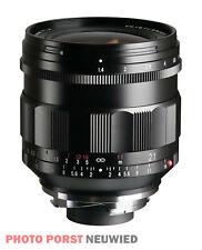 Voigtländer Nokton 1:1,4/21 mm asph. schwarz Leica/VM *NEUHEIT*