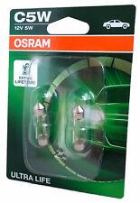 C5W OSRAM Ultra Life Extra Lifetime bis zu 4 fache Lebensdauer 2er 6418ULT-02B
