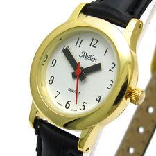 Reflex ladies super-clear quartz watch new gold 182lt