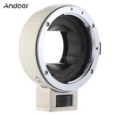 Andoer AF EF-NEXII Adapter Ring for Canon EF EF-S Lens to Sony NEX E Mount P7K2